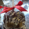 gourmet chocolate caramel apple favors johnson city